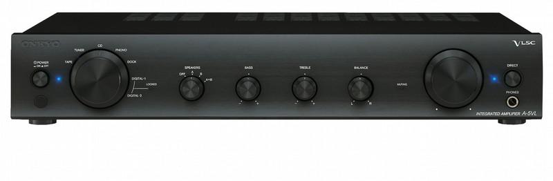 ONKYO A-5VL 2.0 Проводная Черный усилитель звуковой частоты