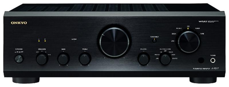 ONKYO A-9377 2.0 Дома Проводная Черный усилитель звуковой частоты