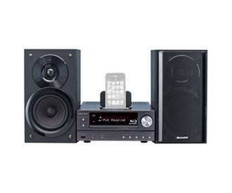 Sharp XLBD601PH 100Вт Черный домашний музыкальный центр