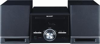 Sharp XL-E75H Micro set 15Вт Черный домашний музыкальный центр