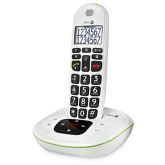 Doro PhoneEasy 115 DECT телефон Идентификация абонента (Caller ID) Белый