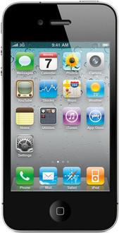 Apple iPhone 4 Одна SIM-карта 8ГБ Черный смартфон