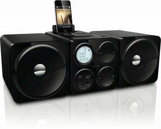 Philips DCM1070/12 Micro set 10Вт Черный домашний музыкальный центр