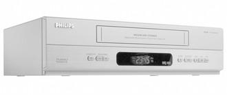 Philips VR550/39 Cеребряный кассетный видеомагнитофон/плеер