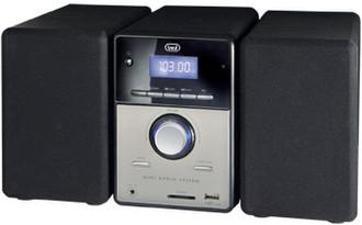Trevi MCX 1021 USB Mini set 16Вт Черный, Cеребряный