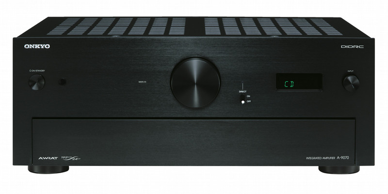 ONKYO A-9070 2.0 Дома Проводная Черный усилитель звуковой частоты