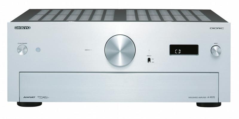 ONKYO A-9070 2.0 Дома Проводная Cеребряный усилитель звуковой частоты