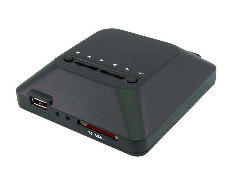 Cables Direct Mini HD Media Box 2.0 Черный медиаплеер