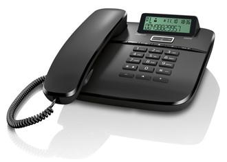 Gigaset DA610 Analog telephone Черный