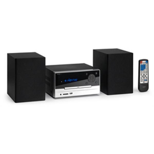 Lenco MDV-8 Micro set 15Вт Черный домашний музыкальный центр