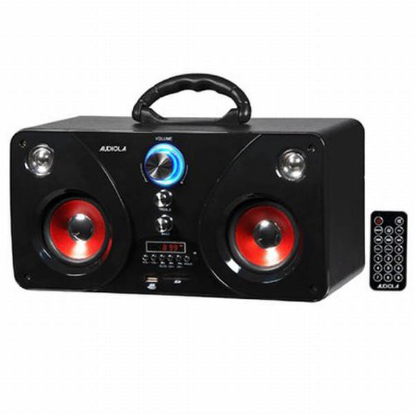 Audiola AHB-0237 MP3 USB SD Micro set 20Вт Черный