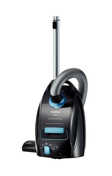 Siemens VSQ5X1230 Цилиндрический пылесос 4.5л 1200Вт B Черный пылесос