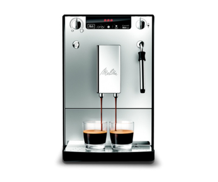 Melitta Caffeo Solo Отдельностоящий Автоматическая Espresso machine 1.2л Cеребряный