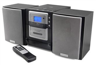 Soundmaster MCD 750 Micro set Черный, Cеребряный домашний музыкальный центр