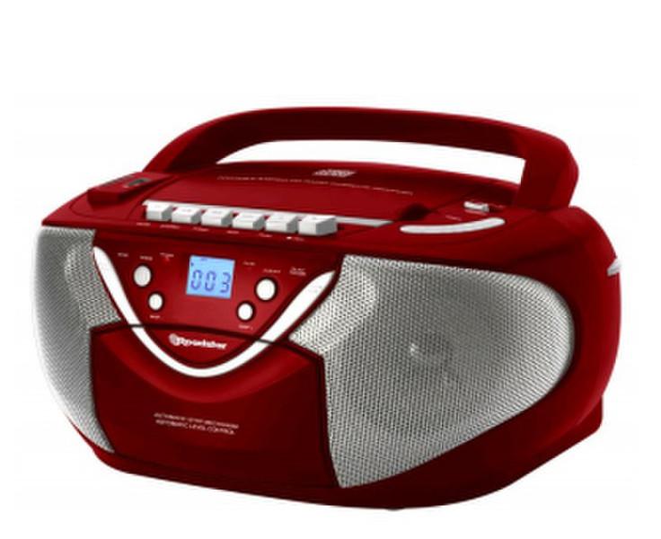 Roadstar RCR 4650 USMP/R Micro set Красный домашний музыкальный центр