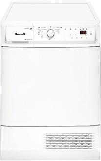 Brandt BWD191T Отдельностоящий Фронтальная загрузка 9кг B Белый сушилка для белья