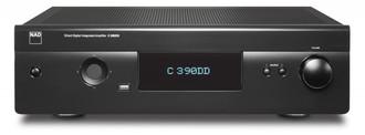 NAD C 390DD Дома Проводная Черный усилитель звуковой частоты