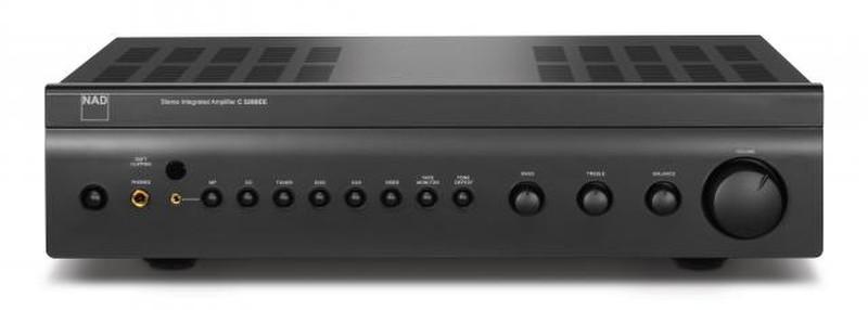 NAD C326BEE 2.0 Дома Проводная Черный усилитель звуковой частоты