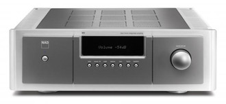 NAD M3 7.1 Дома Проводная Серый, Cеребряный усилитель звуковой частоты
