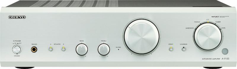 ONKYO A-9155 2.0 Дома Проводная Cеребряный усилитель звуковой частоты