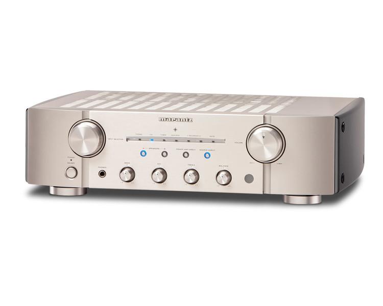 Marantz PM-KI Pearl Lite 2.0 Дома Проводная Золотой, Cеребряный усилитель звуковой частоты