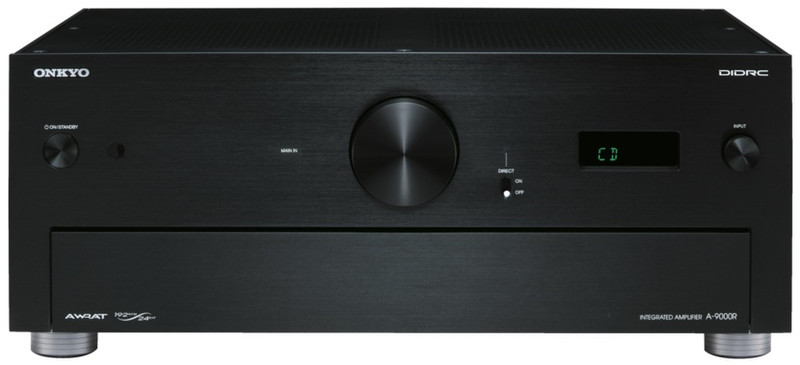 ONKYO A-9000R Дома Проводная Черный усилитель звуковой частоты