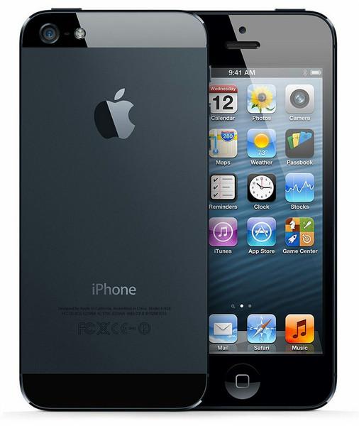 Apple iPhone 5 Одна SIM-карта 4G 64ГБ Черный смартфон