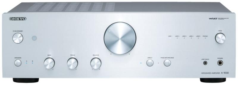 ONKYO A-9030 2.0 Дома Проводная Cеребряный усилитель звуковой частоты