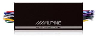 Alpine KTP-445 4.0 Автомобиль Проводная Черный усилитель звуковой частоты