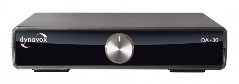 Dynavox DA-30 2.0 Дома Проводная Черный усилитель звуковой частоты