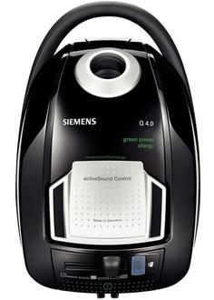 Siemens VSQ4GP1264 Цилиндрический пылесос 5л 1200Вт Черный, Cеребряный пылесос