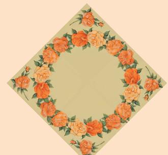 Papstar Table-cloth 80x80 cm 15 Pk