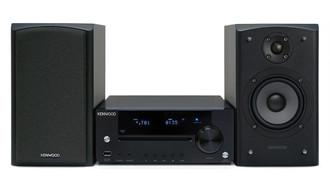 Kenwood Electronics K-731-B Mini set 100Вт Черный домашний музыкальный центр