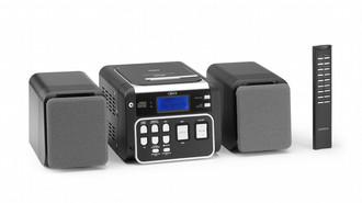 Lenco PLL microset w/ CD, MP3 & WMA