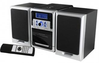 Soundmaster MCD7400 Черный, Cеребряный домашний музыкальный центр