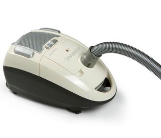 Domo DO7265S Цилиндрический пылесос 4л 2300Вт Черный, Белый пылесос