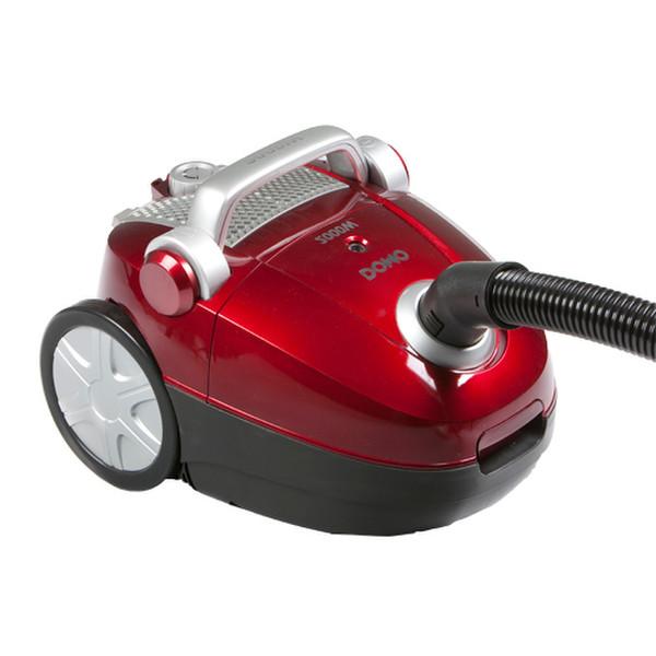 Domo DO7249S Цилиндрический пылесос 2л 2000Вт Красный пылесос