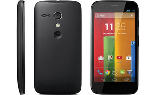 Lenovo Moto G SM3718AE7B1 Одна SIM-карта 8ГБ Черный смартфон