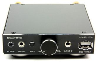 Scythe Kama Bay Amp Mini Pro 2.0 Дома Проводная Черный усилитель звуковой частоты