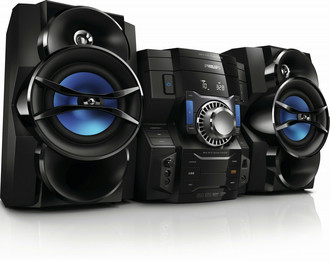 Philips FWM3500/37 Mini set 300Вт Черный, Синий домашний музыкальный центр
