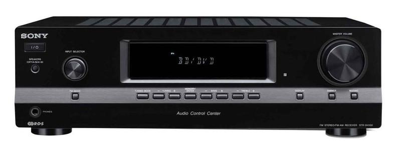 Sony STR-DH100 100Вт 2.0канала Черный AV ресивер