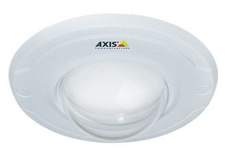 Axis White cover with clear transparent bubble. 10-pack Белый защитный кожух