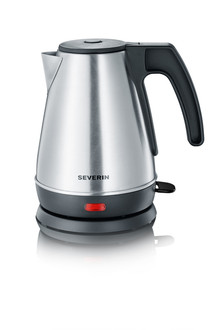 Severin WK 3333 1л 1800Вт Черный, Нержавеющая сталь электрический чайник