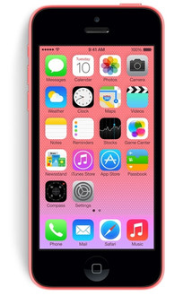 Apple iPhone 5c Одна SIM-карта 4G 8ГБ Розовый