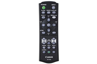 Canon RS-RC06 IR Wireless Press buttons Black remote control