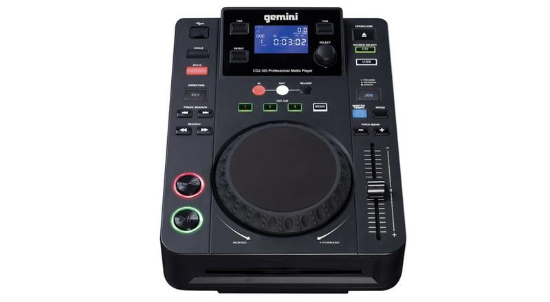 Gemini CDJ-300 Mini set Черный домашний музыкальный центр