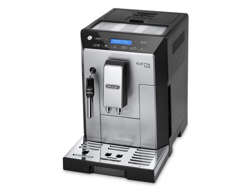 DeLonghi ECAM 44.620.S Отдельностоящий Автоматическая Espresso machine 2л 14чашек Черный, Cеребряный кофеварка