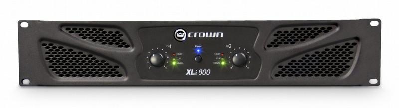 Crown XLi 800 2.0 Проводная Черный усилитель звуковой частоты