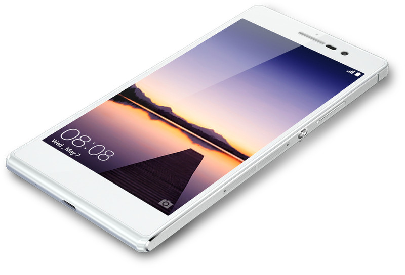 Huawei Ascend P7 P7 Одна SIM-карта 4G 16ГБ Белый смартфон