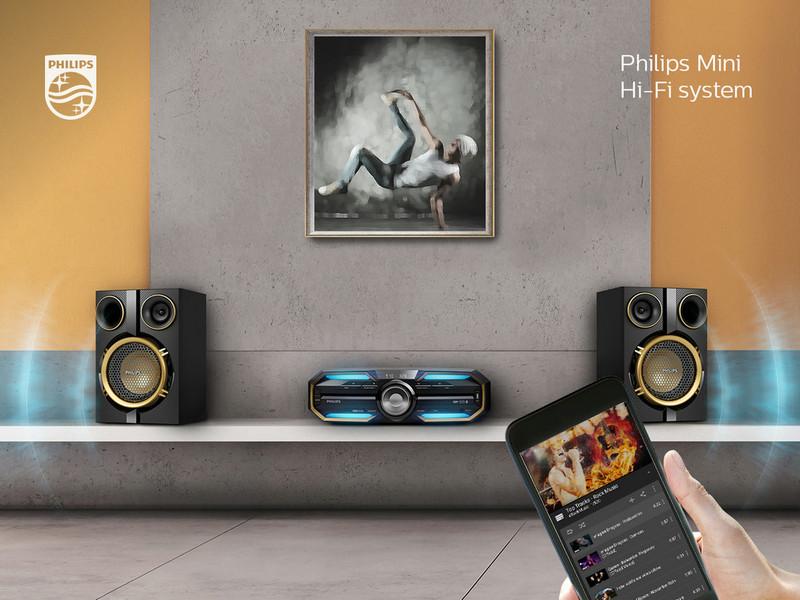 Philips Мини-система Hi-Fi FX25/12